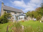 Glamorgan heritage Coast holiday home with large gardens - pets welcome