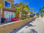Welcome to Belmont Beach house. Just steps away from the beach!