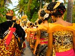 Enjoy the spectacular, traditional ceremonies of Lembongan village, a short walk from Villa Bahagia.