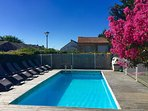 Private heated/fenced pool