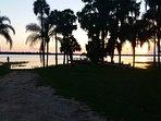 Sunset Lake Marion