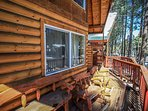 Front Deck of Serenity Summit - Cabin 2
