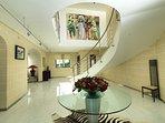 The amazing entrance lobby