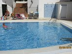 NEW SUNTRAP POOL AREA - shallow end 0.85 metres + gentle steps for easy entry