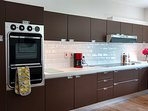 Prepare delicious meals in the fully equipped kitchen