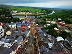 Explore Killorglin, the local market town, a short drive from the house...