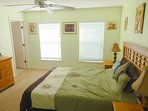 Pharoah Queen Bedroom