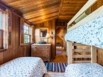 Children's Room with built in bunk & 1 Single, 2nd Level