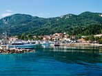 Benitses fishing village
