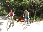 Our Stetson students. FREE use of bicycles.