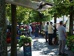 Bayeux markets Saturday am.