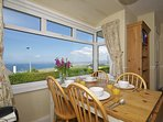 North wales coastal cottage - dining