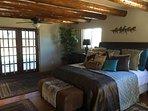 Master Bedroom with door to pool
