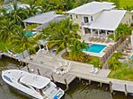 Luxury 5 Bdrm, 7 Bed home with optional use of Private Yacht.