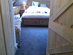 Top deck attic suite king double, 2 singles in a separate room, small sofa and views to the harbour