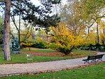 The neighborhood: the Luxembourg garden