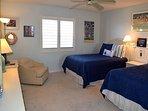 Beautiful guest bedroom.