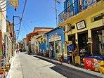 Local market street
