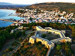 Pylos town and its castle