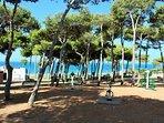 Parque de la Atalaya Zona de fitness al aire libre