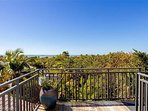 Crow's Nest Rooftop Deck with Gulf Views!