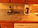 Coffee maker and dishwasher
