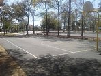 Basketball court at the resort