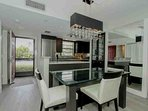 Newly renovated ground floor unit with no expense spared in details...Coretek wood grain vinyl plank flooring in...