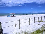 The in front of the Anna Maria Island Beach Sands