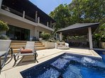 Contemporary style 6 bed pool villa