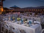 Please inquire about our affordable rates for weddings & events at the property