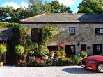 Mill Cottage, part of a 17th Century Water Mill, a quiet country retreat, yet only 10mins from Truro