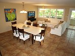 Living and Dining Areas. 55' LCD TV, Direct TV, Apple TV. Fully Air-conditioned.