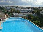 piscina vista playa del carmen