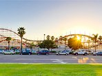 Belmont park, Mission Bay, and many other attractions are very close by