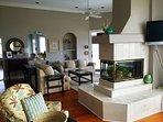 Upper Level Living Area, Oceanfront, Beautiful!