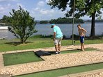 Miniature golf!  No added costs!