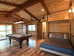 Pool Table, Murphy Bed