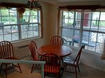 dining area in living room