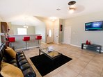 Large Spacious Family Room/Den Includes Two Full Size Futons Sleeps 4 Guest. 50' Flat Screen HDTV