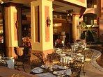 Fine dining restaurant onsite