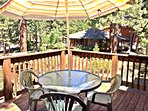 Deck off the living room