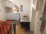 cucina/zona pranzo e soggiorno/ingresso