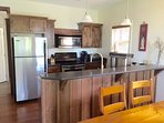 Beautiful Modern Kitchen with Stainless Appliances