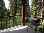 Private Deck Features a Private Hot Tub and Gas Bbq