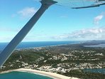 Aerial photo of Noosa National Park .