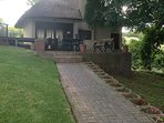 Shared Lapa indoor/outdoor braai room