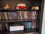 Books, DVDs, Blu-Rays, PS3 games