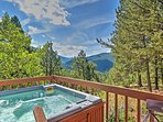 Escape to the Rockies to stay at 'Horseshoe Lodge,' a vacation rental cabin!