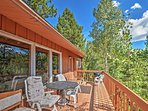 The deck is sure to become your favorite spot to kick back and relax.
